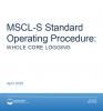 MSCL-S BOSCORF operating procedure
